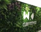 万达园林植物墙景观绿化