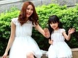 2013韩版童装批发 夏季亲子装 母女装