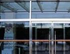 成都安装玻璃门感应玻璃门玻璃隔断-专业服务