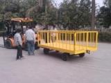 厂家直销平板拖车,定做挂车价位,围栏式平板拖车