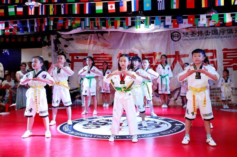 龍圣博击散打泰拳跆拳道冬季健身好去处