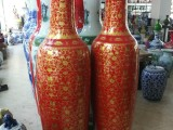 成都冯氏落地大花瓶 景德镇陶瓷大花瓶