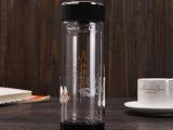 定做广告促销活动礼品5元批发双层玻璃杯保