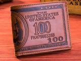网销爆款 压变包边短款包 百元美金钱包