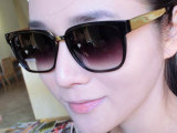 2013 欧美明星大爱金色镜腿太阳镜/男女通用潮款墨镜0587