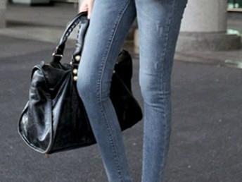 东大门代购春款女装显瘦修身弹力小脚裤铅笔裤女士低腰牛仔裤批发