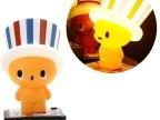 欧式卡通创意LED小夜灯 按钮式USB插电帽子灯喂奶小夜灯儿童灯