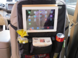 多功能汽车座椅背置物袋车用挂袋车载收纳袋ipad储物袋一件代发