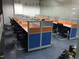 合肥全新铝合金四人位职员钢架办公工位桌屏风隔断桌出售