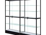 厦门玻璃柜模型柜手办柜钛合金展柜定制批发