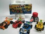 气压赛车/交通类玩具/自装玩具赛车/积木