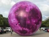 中秋充气发光月球气模 商场旅游景区美称装饰 气模厂家直销