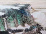 中国著名山水画家-吴优