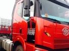 J6二拖三拖头460马力领航版在跑车急转2年3.8万公里24.6万