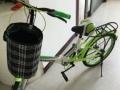 单速旗舰版绿色自行车