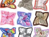 雪纺丝巾订制-深圳丝巾企业围巾标志方巾印花丝巾订制
