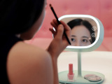 海迎礼品定制 梳妆镜床头灯 创意储物智能