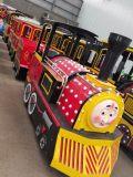 郑州智宝乐游乐设备厂家热销新款仿古无轨火车,儿童无轨小火车