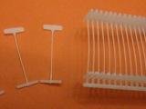 厂家直供 透明塑料胶针 工字型胶针 吊牌胶针 手穿胶针 大量供应