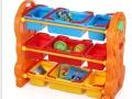 幼儿园宝宝整理架储物架 儿童卡通塑料玩具架 收纳架