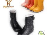 2013头层牛皮童靴 儿童雪地靴厂家直销童鞋冬季新款