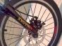 20悍马山地自行车 折叠 减震 刀圈碟刹 连体指拨21变速