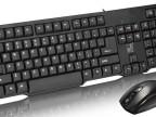 追光豹Q8有线键盘鼠标套装 有线PS2/USB键盘 有线鼠标键盘套装