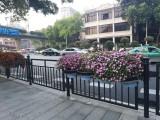 供应锌钢交通道路护栏 湛江市政隔离栏杆厂家吴川京式安全围栏