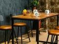 工业风格餐厅咖啡厅桌椅沙发厂家定做