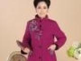 2013冬季新款 中老年女装妈妈装冬装棉服中年棉袄外套加厚中长版
