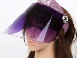双专利防紫外线遮阳帽 夏季骑车男女防晒帽子太阳帽 空顶户外帽