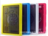 批发销售笔记本超薄易携带彩色N19笔记本散热器 笔记本散热座