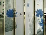 竹木纤维集成墙板 高档丝绸电视背景墙装饰画 快装墙板