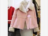 韩国代购东大门秋冬季新款棉衣棉服女羊羔绒外套加厚时尚外套