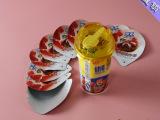 厂家直销批发酸奶杯封口膜 ps食品封口 玻璃瓶封口垫片定制