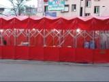 广西定做雨棚仓库临时厂篷活动伸缩蓬大排档移动雨蓬推拉篷遮阳棚