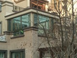 通州陽光房 陽光玻璃房 玻璃頂封院子 庭院陽光房設計施工