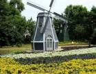 郑州荷兰风车景观水车埃菲尔铁塔圣诞树厂家