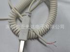 深圳厂家生产 2芯 3芯 USB弹簧线 伸缩弹簧电源线 螺旋线 卷线