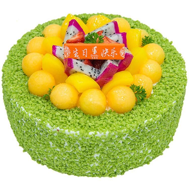 预定订衡山多喜来生日蛋糕同城配送榴莲千层芒果慕斯芝士儿童祝寿