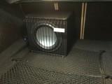 宝马320汽车音响改装升级歌剧世家低音 常州汽车音响