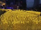 互动美陈装置 发光麦穗灯 园林景区打造