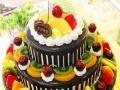 专业制作大型蛋糕美味的生日蛋糕预定订购送货上门