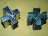 塑钢带打包扣 十字打包扣 自产自销