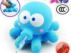 儿童玩具 宝宝戏水玩具 益智盒装喷水捞鱼 软胶捏捏叫搪胶玩具