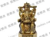 厂家直销纯铜财神爷佛像摆件 家居装饰品聚
