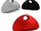 厂家专业生产 彩色简约时尚防水耐用羊毛毡电脑包 现货批发销售