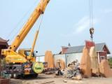 海口吊车25吨35吨50吨吊车出租,吊车电话