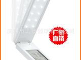 厂家直销冷光源创意节能LED小护眼台灯学习书灯具饰充电闹钟批发