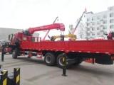 东风柳汽乘龙玉柴290马力三一12吨吊机